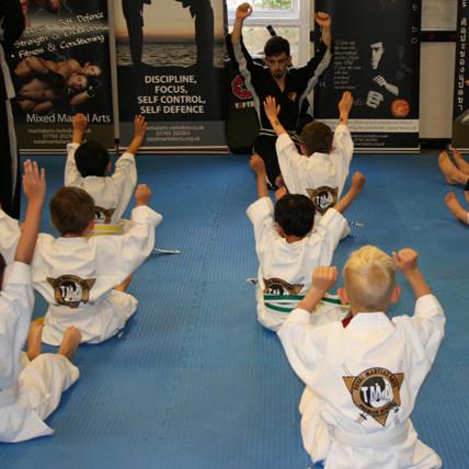 kids martial arts lessons