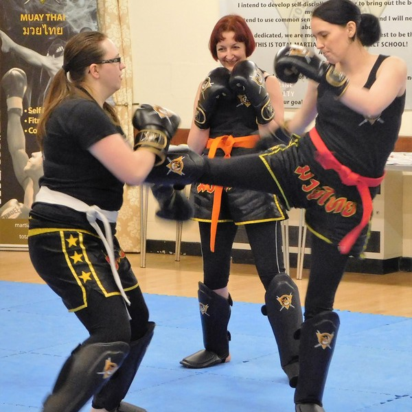 KICKBOXING martial arts