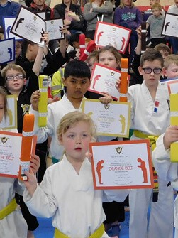 awards for martial arts students